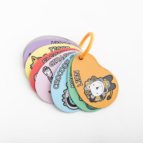 8 fun and engaging cards to entertain little ones on outdoor adventures. Keeps baby happy & stimulated while they also learn to identify the cute animals and a range of colours.