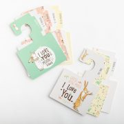 Perfect for nursery decorations, parents can enter the enchanting world of Guess How Much I Love You with our stunning Wardrobe Dividers.