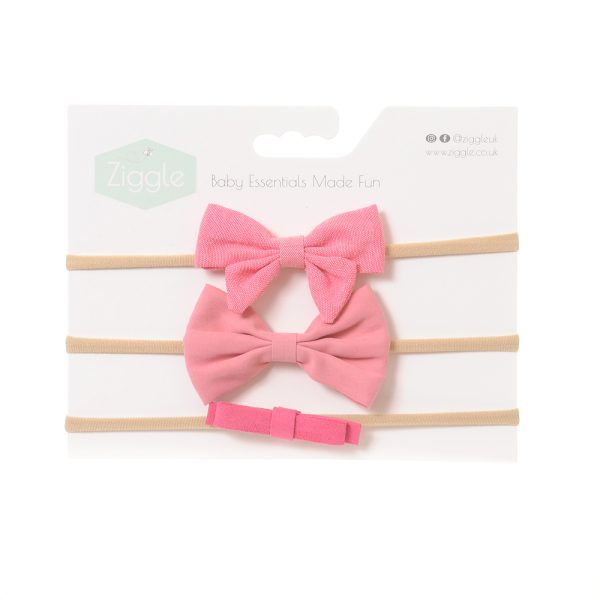 Bright Pinks Hairbow Set