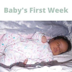 Baby's First Week blog