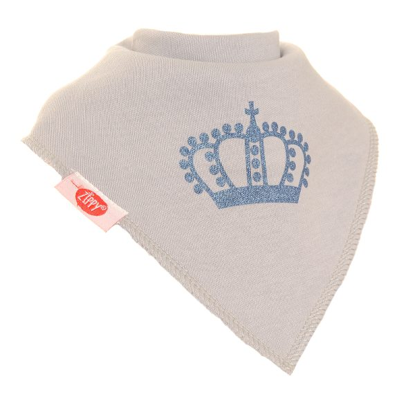 crown bib for prince princesses