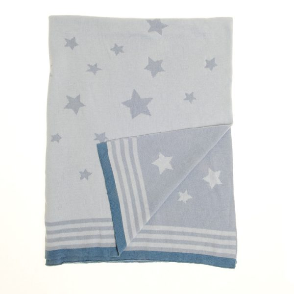 Blanket - Blue Stars copy