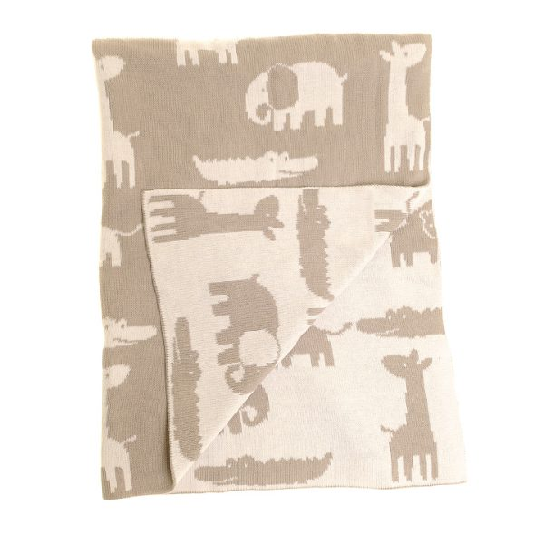 Blanket - Fawn Animals - Unfolded copy