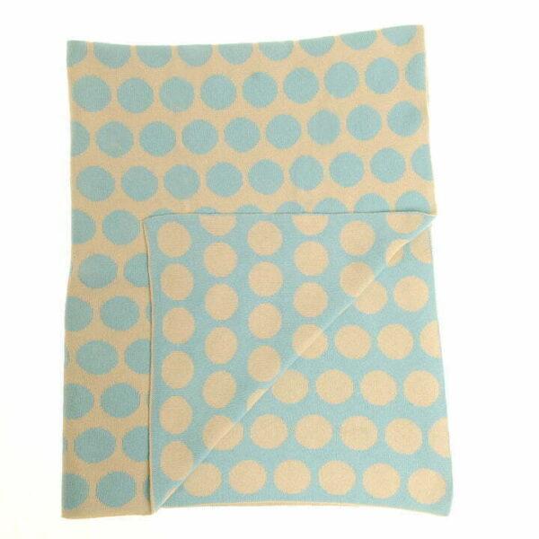 Blanket - Green Spot - Unfolded copy