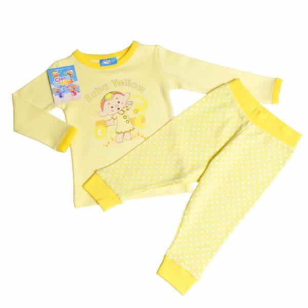 Cloudbabies Baby Toddler Girl Pyjamas Baba Yellow
