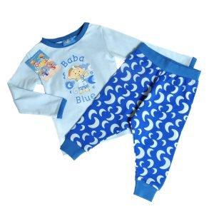 Cloudbabies Baby Toddler Boy Pyjamas Baba Blue