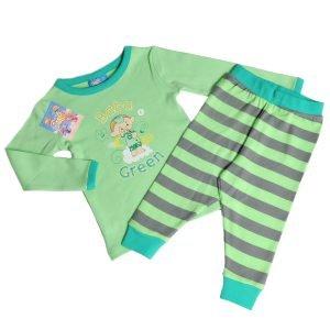 Cloudbabies Baby Toddler Boy Pyjamas Baba Green