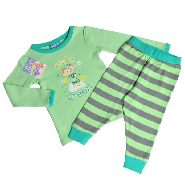 Cloudbabies Baby Toddler Boy Pyjamas Baba Green
