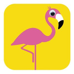 Card - Florence Flamingo