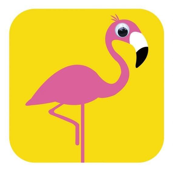 Card - Florence Flamingo