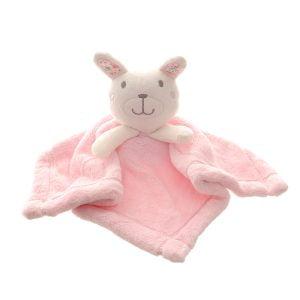 Comforter - Bear - Pink