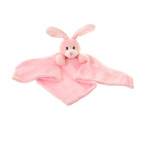 Our gorgeous Bunny Comforter Blanket is the perfect gift for newborns. Super soft velour plush to snuggle with. Lovely toy and soothes babies to sleep.