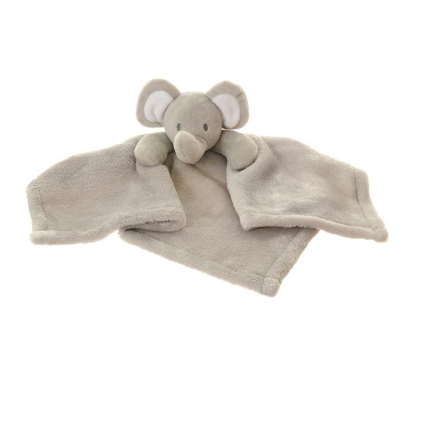 Our gorgeous Elephant comforter blanket is the perfect gift for newborns. Super soft velour plush to snuggle with. Lovely toy and soothes babies to sleep.