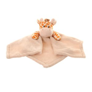 The epitome of comfort! Ziggle's gorgeous Giraffe comforter blanket is luxuriously soft and cute. The perfect baby shower or new born gift!
