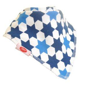 Ziggle Baby Unisex Bandana Dribble Bib Simply Blue Stars