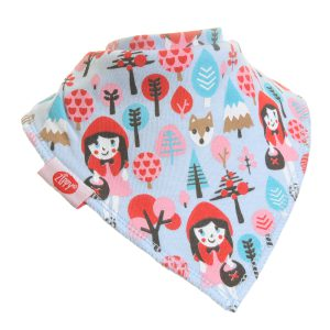 Ziggle Baby Girl Bandana Dribble Bib Little Red Riding Hood