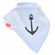 Ziggle Baby Boy Bandana Dribble Bib 4 pack Nautical