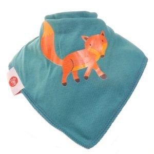 Ziggle Baby Unisex Bandana Dribble Bib Fox