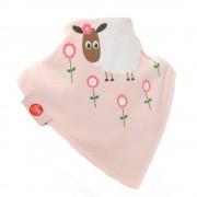 Ziggle Baby Girl Bandana Dribble Bib 4 pack Cute