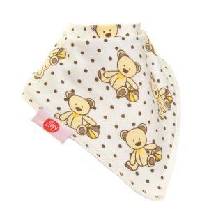Ziggle Baby Unisex Bandana Dribble Bib Cute Bear