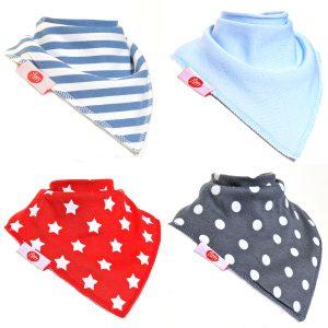 FUN8922 bibs to match boys socks