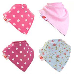 FUN8939 bibs to match girls socks