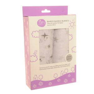 star swaddle grey