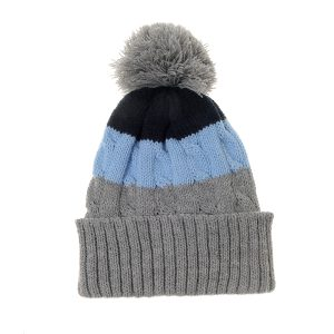 Hat - Grey & Blue
