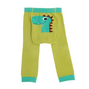Leggings - Dino Des - Front