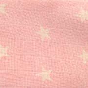 Muslin-PinkStars-Detail