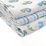 Muslins - Pastel Blues - Stacked - 1