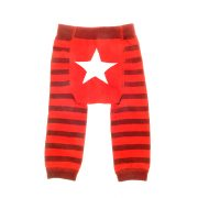 Red White Star Leggings_1