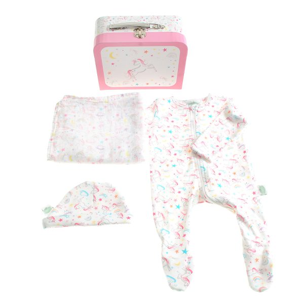 LilyBelle New Baby Suitcase Gift Set by Katie Phythian