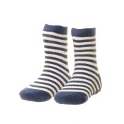 Socks -Boys - Blue & White Stripes