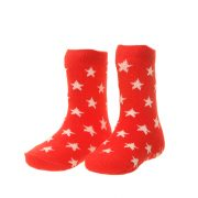 Socks -Boys - Red Stars