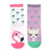 Socks - Flamingo - Front