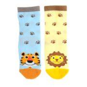 Terrence Tiger and Livingston Lion Socks Set