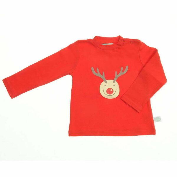 Tshirt - Red - Rudolph