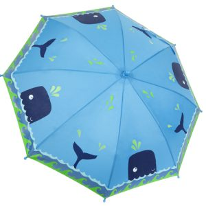 image of the blue whales colour changing umbrella