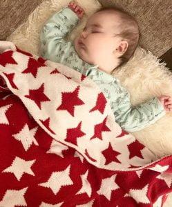 Y milo and arrabella christmas blanket