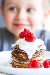 healthylittlefoodies pancake stack