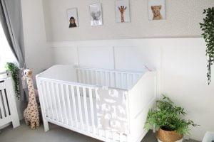 life_of_hudson_soph blanket in nursery