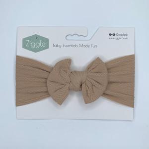 Toast top bow turban headband