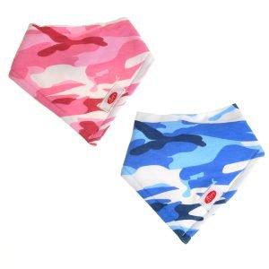 Ziggle Baby Super Absorbent Bandana Dribble Bib  Camouflage Swirl