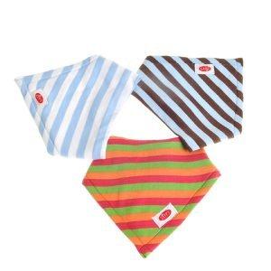 Ziggle Baby Super Absorbent Bandana Dribble Bib Stripes